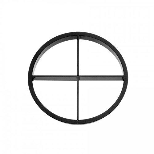 WAC Lighting LENS-11P-CRL-BN WAC Lens & Filters 1.38in Diameter Cross Louver, Brushed ()