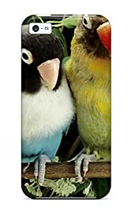 Jose Cruz Newton's Shop 9477285K26355565 Excellent Iphone 5c Case Tpu Cover Back Skin Protector Four Small Parrots On A Branch