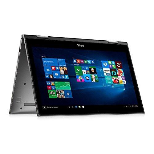 Dell Inspiron 15.6-inch 2 in 1 Full HD 1920x1080 Touchscreen Laptop PC Intel Core i5-7200U Processor 8GB RAM 256GB SSD 802.11AC Wifi Backlit Keyboard Bluetooth Webcam HDMI Windows 10-Gray from Dell
