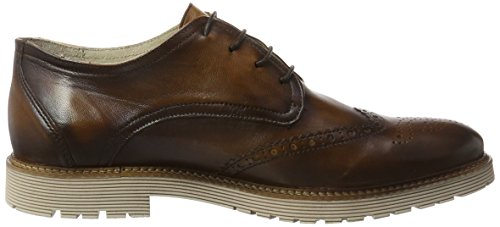 Marc Shoes Dover, Scarpe Stringate Uomo Marrone (Braun)