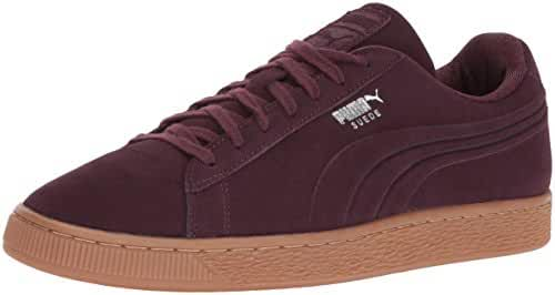 PUMA Men's Suede Classic Debossed Q4 Fashion Sneaker