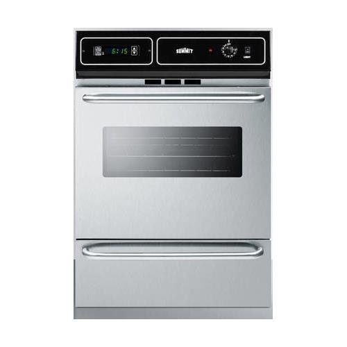 Summit TTM7212BKW Kitchen Cooking Range, Stainless Steel
