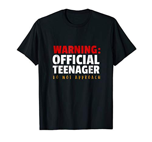 (Official Teenager 13 Year Old Funny 13th Birthday Gift)