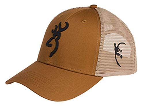 Browning Tradition Mesh Hat, Rust/Tan
