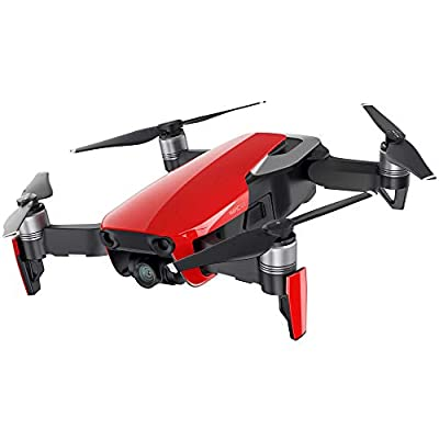 DJI Mavic Air Quadcopter Drone - Flame Red (CP.PT.00000147.01) Copilot Bundle with DJI Copilot BOSS Computer-Free in-Field Direct 2TB Backup and Power Bank and Custom Mavic Hard Shell Backpack