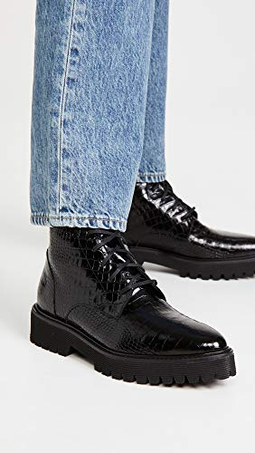 Freda Salvador Women's EMI Lug Sole Lace Up Boots