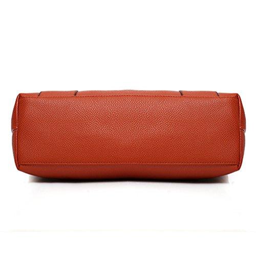 Design Anguang Da Handbag Donna Tote Bag Shoulder Cerniera Cammello Bag Elegante Pezzi 3 FaIqra