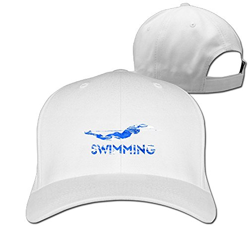 Swimming Butterfly Camo Colortone Unisex Comfortable Adjustable Baseball Peaked (Youth Mid Profile Camo Cap)