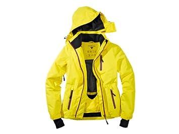 Crivit - Chaqueta de esquí para Mujer, Talla 40, Color Amarillo y Lila