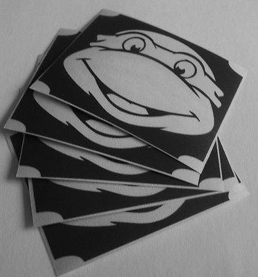 TEMPORARY BODY GLITTER TATTOO V. Studios 5x ninja turtle smile neat glitter tattoo airbrush facepaint]()