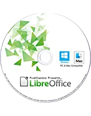 LibreOffice 2021 Home and Student 2019 Professional Plus Business Compatible with Microsoft Office Word Excel PowerPoint & Adobe PDF Software CD for Windows 11 10 8.1 8 7 Vista XP 32 64-Bit PC & Mac OS X