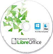 LibreOffice 2021 Home and Student 2019 Professional Plus Business Compatible with Microsoft Office Word Excel
