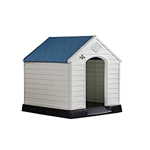 Confidence Pet Plastic Dog Kennel Outdoor House 46