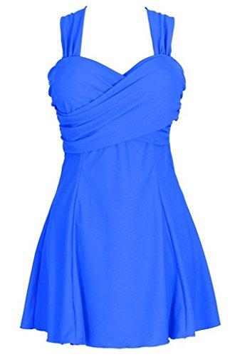 Wantdo Women's Sandy Beach Wear Dress Swimming Costume Over Size Swimsuit Dress