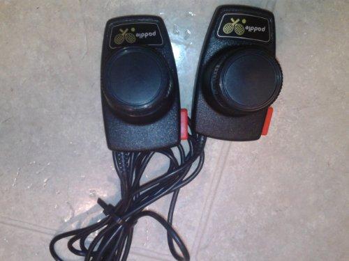 Atari 2600 Paddle Controllers (Atari 2600 System Vintage Game)