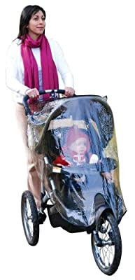 Jeep Jogging Stroller Weather Shield from HIS Juveniles