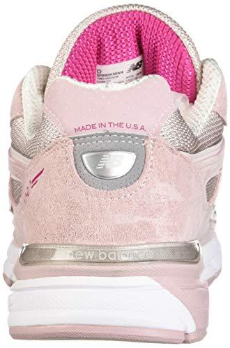 New Balance Men's 990v4 Running Shoe, Faded Rose/Komen Pink, 7 D US by New Balance (Image #2)