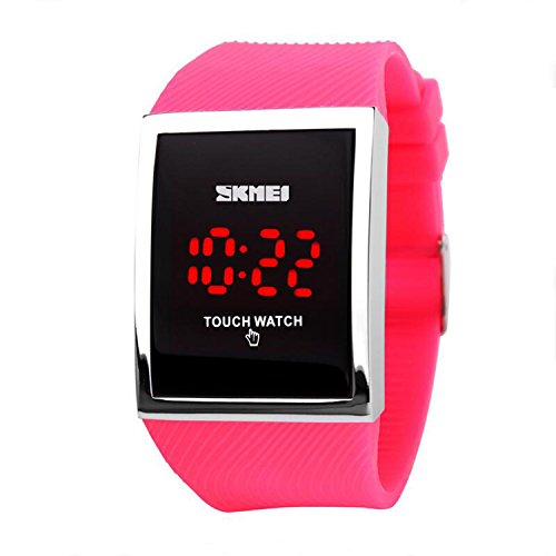 Gosasa Touch Screen Digital LED Waterproof Girls Sport Casual Wrist Watches by Gosasa