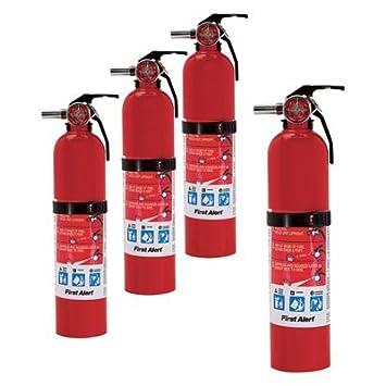First Alert KITCHEN5 Kitchen Fire Extinguisher, White
