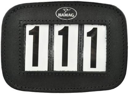 Hamag Pty Ltd 3 Digit Leather Equestrian Number Holder (Pair) 41fRak9W5cL