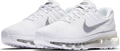 Nike Air Max 2017 GS - Zapatillas de Deporte, Running, Sneakers, Blanco, 36.5 eu
