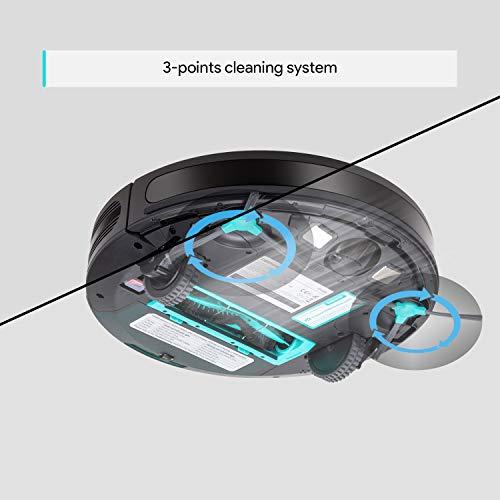 Deenkee Dk600 Robot Vacuum 1500pa High Suction 2 8 Inch