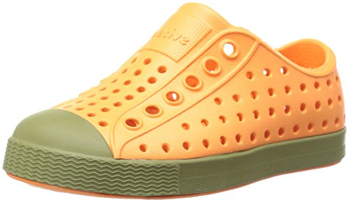Native Jefferson Slip-On Sneaker Nemo Orange / Anfängergrün