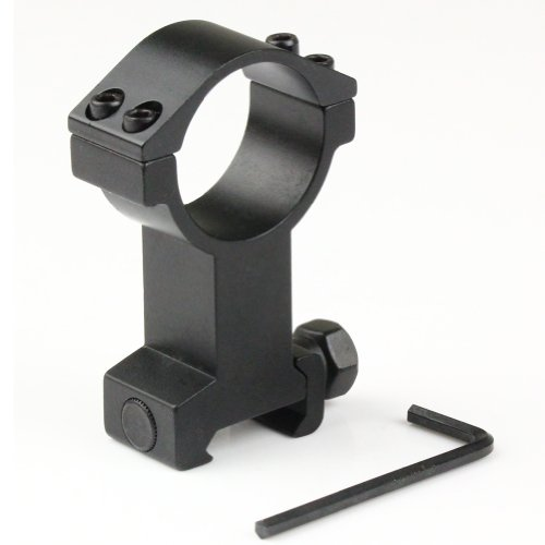 VERY100 1pc High Profile 30mm Scope Ring 21mm Picatinny Weaver Rail Mount for Flashlight