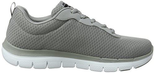 0 Baskets Dayshow Gris Grey Skechers Advantage Flex 2 Homme qCz1t