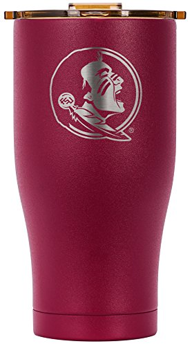ORCA Chaser Laser Etched Florida State University Cooler, Garnet, 27 oz by ORCA