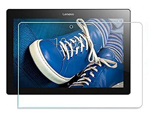 s hardline tablet back tempered glass screenguard for lenovo tab 2 a10 30 Transparent