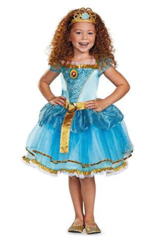 Disney Pixar Brave Costumes (Disguise Disney Pixar Brave Merida Tutu Prestige Girls Costume, Medium/7-8)