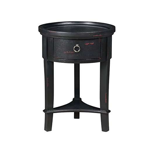 Pulaski Round Accent Table In Silver