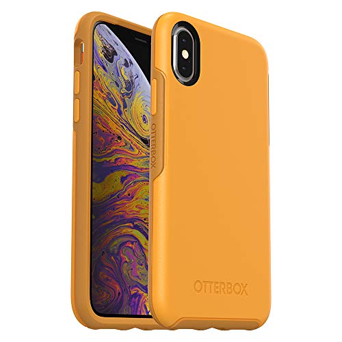 OtterBox SYMMETRY SERIES Case for iPhone Xs & iPhone X - Retail Packaging - ASPEN GLEAM (CITRUS/SUNFLOWER) ()