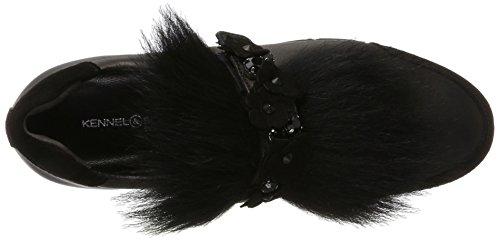 Schwarz Scarpe Donna Sohle Racer Und Schmenger Schwarz schwarz Basse Schuhmanufaktur schwarz weiss Kennel IvqgAWcwPq