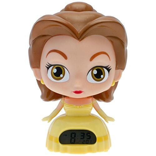 BulbBotz Disney Princess 'Belle' 7.5 in Light-up Alarm Clock Disney Princess Alarm Clock