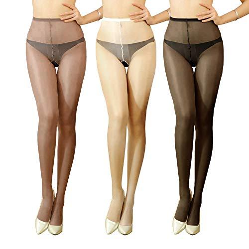 (Women's Shiny Tights Stocking (S / 33