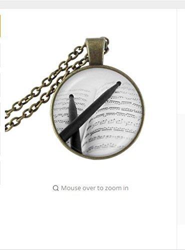 drum-stick-necklace-drummer-jewelry-glass-cabochon-pendant-antique-bronze-chain-neckless-women-men-c