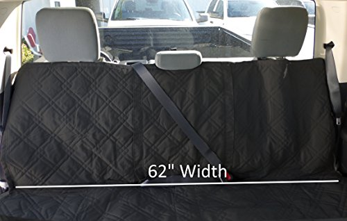 Formosa Covers Deluxe Quilted And Padded Dog Pet Car Back