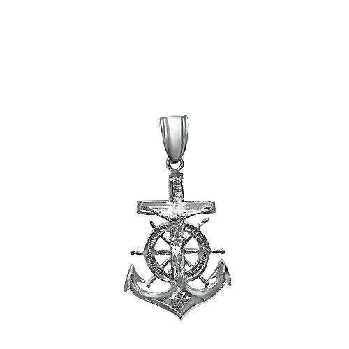 Small Anchor Pendant - 9