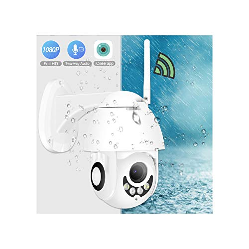 Materialal 1080P Wireless Hd IP Camera 2Mp Ptz WiFi Speed Dome Security Camera Two Way Audio Outdoor,1080P No Adapter,Russian Federation,3.6Mm