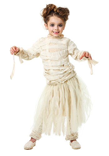 Fun Costumes Girl's Mummy Costume 4t (Kids Mummy Costumes)