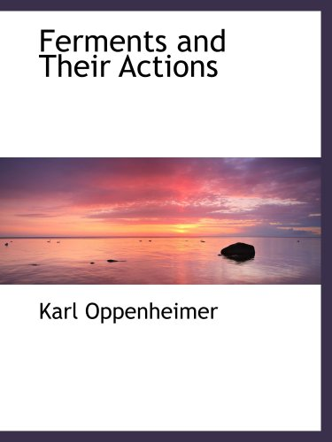 Download Ferments and Their Actions pdf