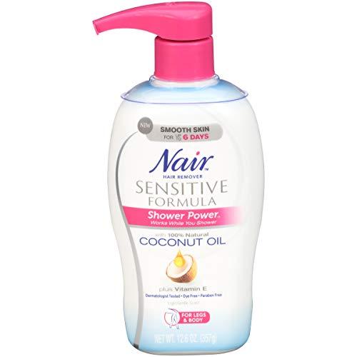 Nair Shower Power Sensitive Formula, 12.6 Oz (Nair Hair Remover Shower Power Max Reviews)