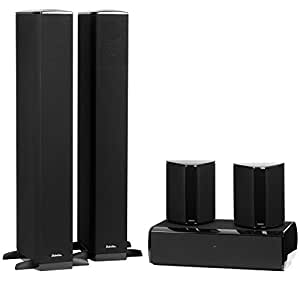 definitive technology bp 8020st cs 8040hd 5 piece home theater speaker system. Black Bedroom Furniture Sets. Home Design Ideas