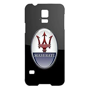 Maserati Logo Phone Case Classical Customized 3D Phone Case Snap on Samsung Galaxy S5 I9600 Luxury Maserati Logo