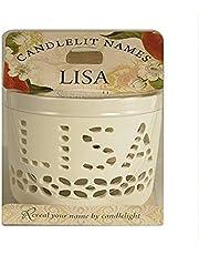 Candlelit Names 001850138 Candle-Lisa