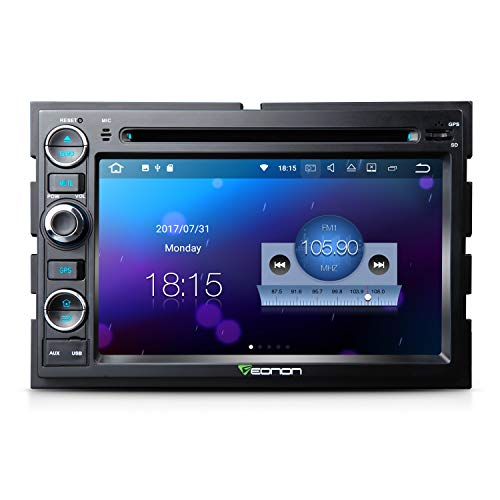 Double Din7 Inch Car Stereo Eonon Car Stereo Radio with Bluetooth Applicable to Ford F150 2005,2006,2007 and 2008 in Dash Touch Screen Support WiFi,Fastboot-GA8173