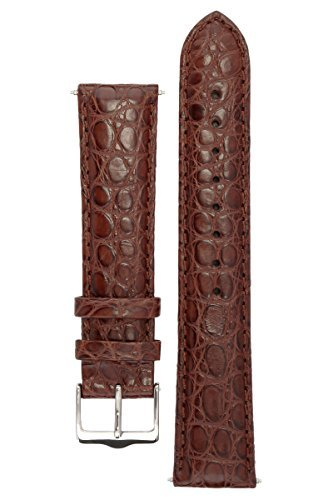 signature-desire-in-coffee-20-mm-extra-long-watch-band-replacement-watch-strap-genuine-leather-silve