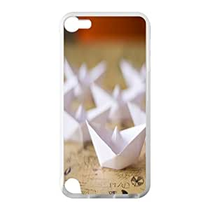 Welcome!Ipod Touch 5 Cases-Brand New Design Paper Boat Printed High Quality TPU For Ipod Touch 5 4 Inch -05
